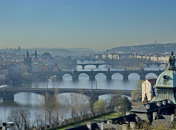 Прага - город старых мостов