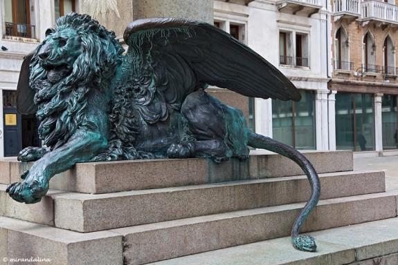 Венецианский крылатый лев
