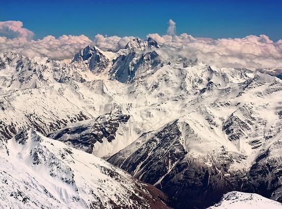 Кавказ – это шикарные горы