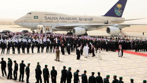 Флагманская авиакомпания Саудовской Аравии