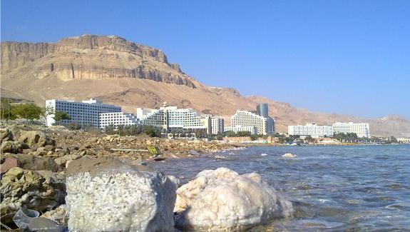 Санатории на берегу Мертвого моря