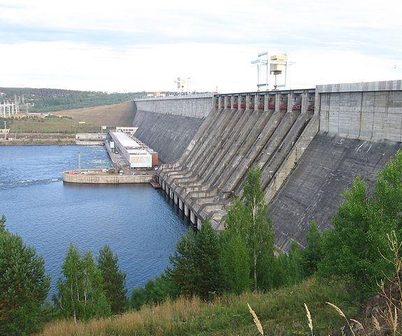 Усть-Илимск, гидроэлектростанция