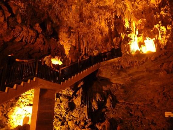 Фосфорная пещера в Алании, Турция