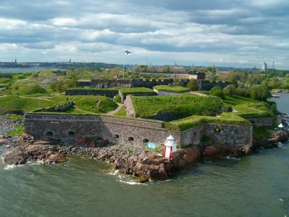 Финляндия, посещение форта Суоменлинны