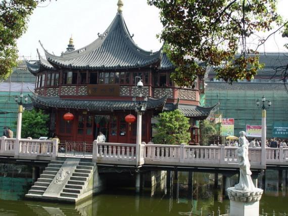 Главная достопримечательность Шанхая – Храм Будды
