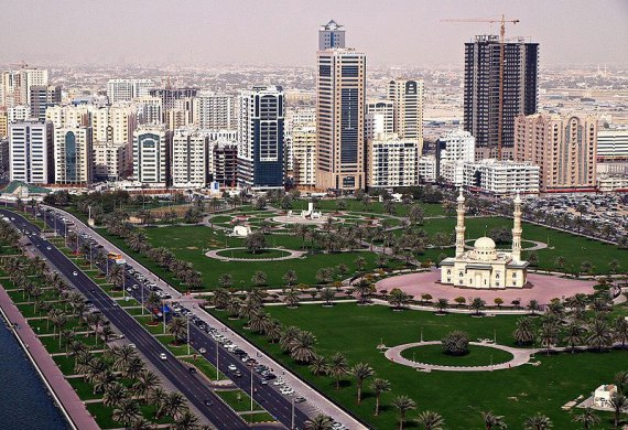 Шарджа – третий по величине город ОАЭ
