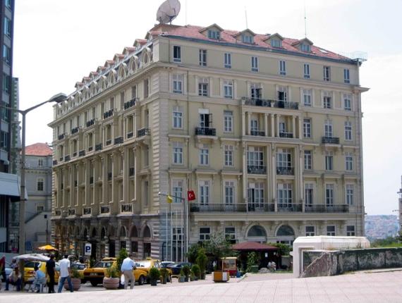 Отель «Пера Палас» в Стамбуле