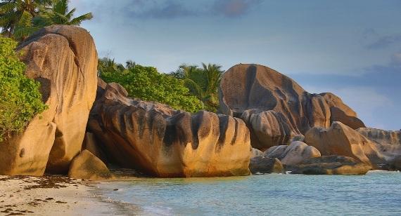 Сейшельские острова, пляж Anse Lazio