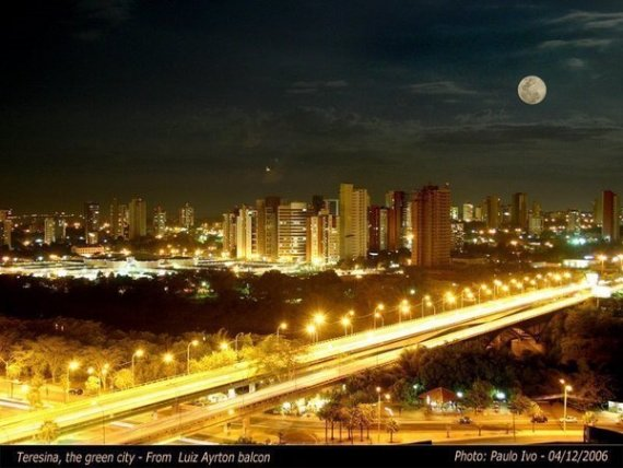 Терезина - современный город в Бразилии