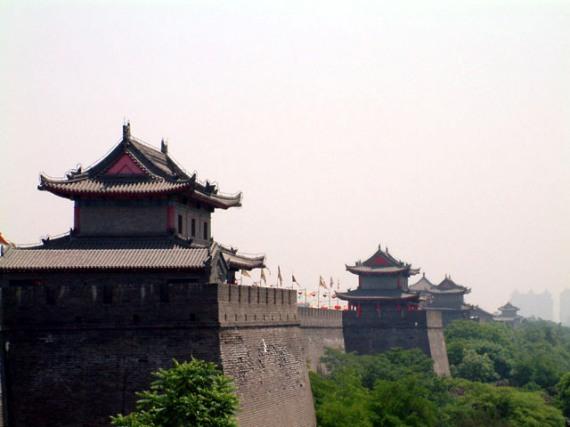 Сиань – самый крупный город на северо-западе Китая