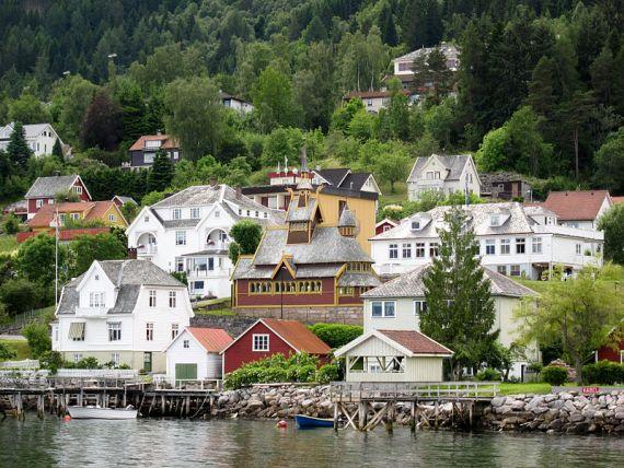 Норвегия, деревня Балестранн