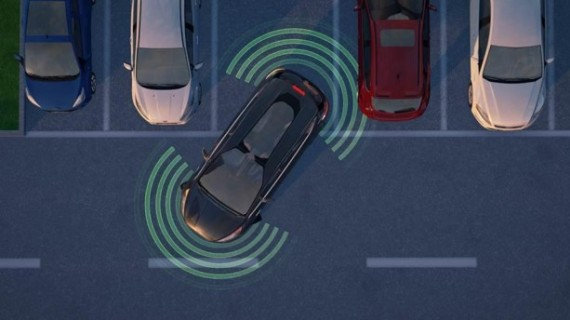 Форд представил технологию автоматического объезда препятствий Obstacle Avoidance