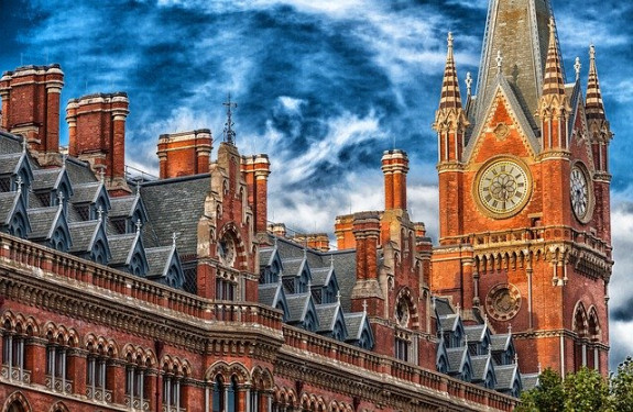 Лондон, башня с часами