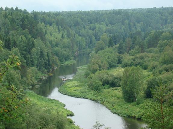 Оленьи ручьи - место для тихих сплавов