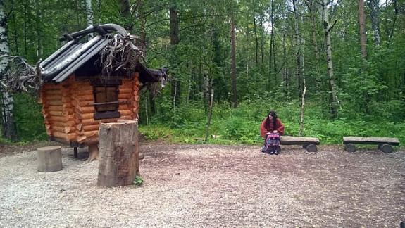 Избушка бабы Яги в Оленьих Ручьях