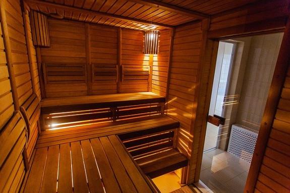 Парилка в финской бане