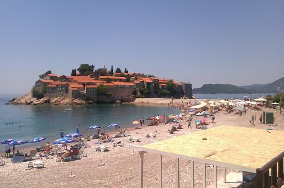 Пляжи в Черногории преимущественно песчаные