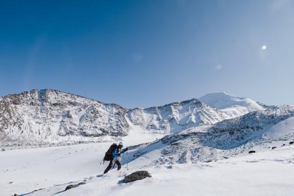 По просторам зимнего Алтая