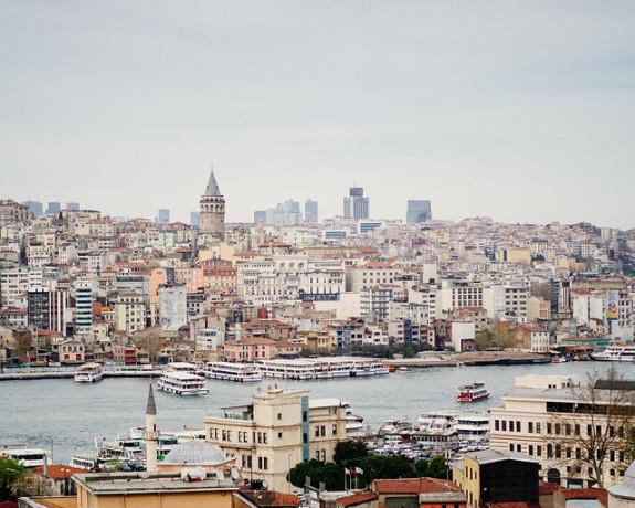 Стамбул, вид на город
