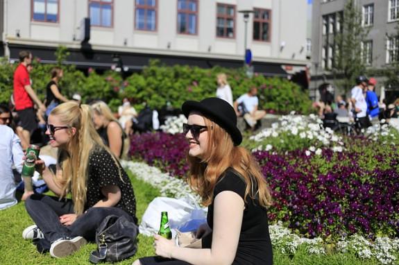 Исландская молодежь