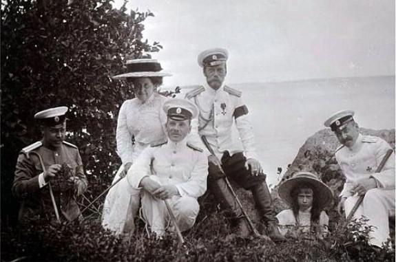 Император с семьей на водах