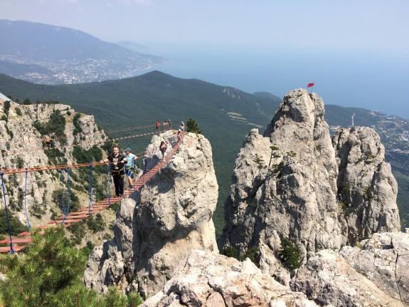 Горы в Крымской Ялте