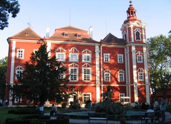 Средневековый отель в Чехии