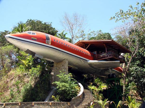 Коста Рика: отель-самолет