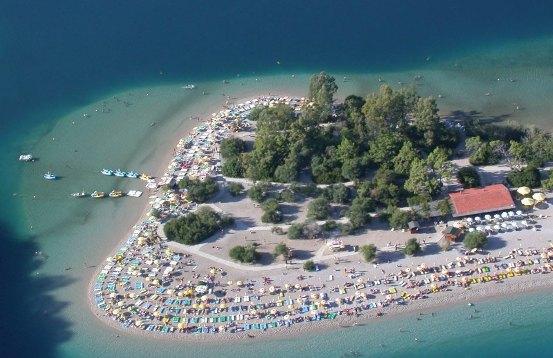 Пляжные развлечения в Анталии, Турция