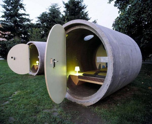 Dasparkhotel, Австрия: отель в канализации