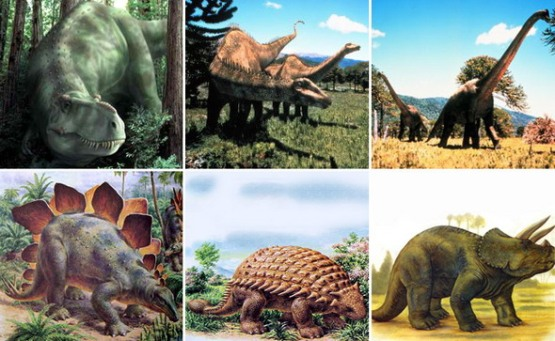 Выставка динозавров в Париже