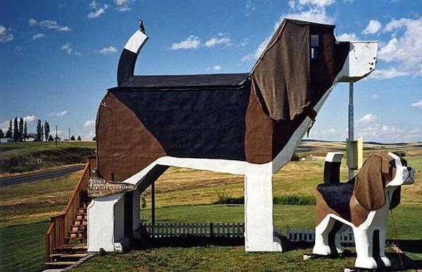 Dog Bark Park Inn, США: отель-собака