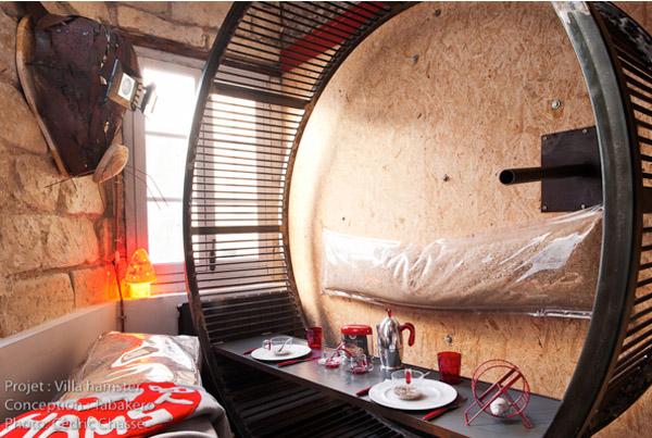 "La Villa Hamster, Франция: отель ""домик хомячка"""