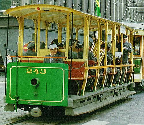 Хельсинки: музей-трамвай