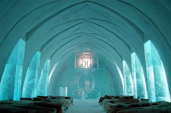 Icehotel, Швеция: ледяная гостиница
