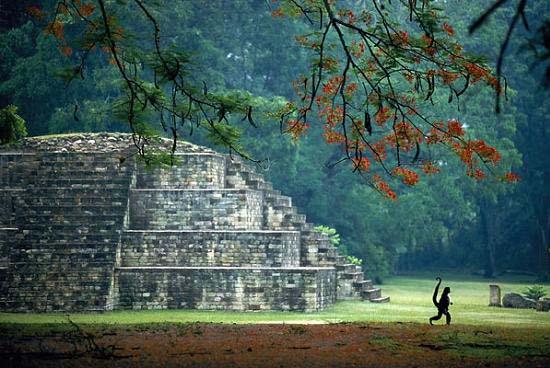 Гондурас, развалины Копана