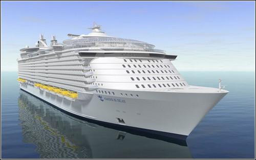 Oasis of the Seas - самый большой круизный лайнер в мире
