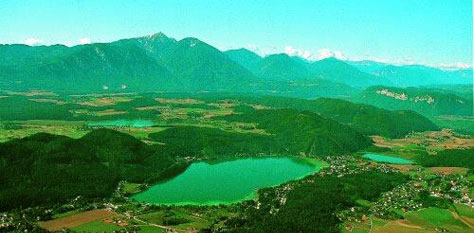 Озеро Милльштаттер-Зее, Австрия