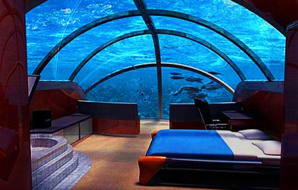 Poseidon Undersea Resort, Фиджи: гостиница на пятнадцатиметровой глубине