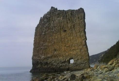 Скала Парус, Крым