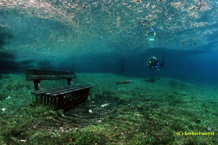 Австрия, Зеленое озеро