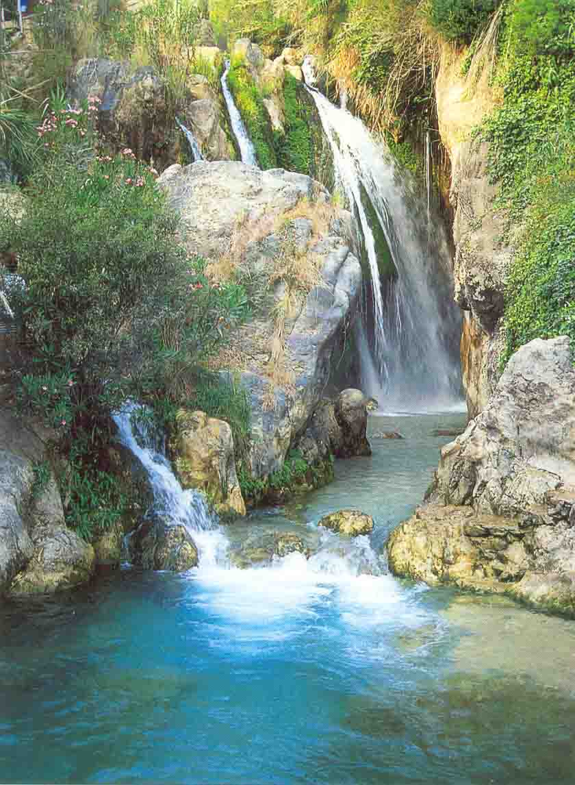 гуадалест водопады